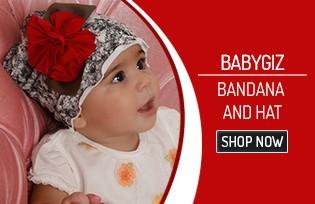 Babygız Bandana and Hat Models