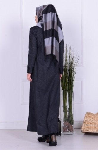 Light Black Abaya 1971-02