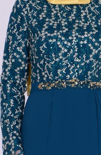 Robe de Soirée 6618-03 Vert 6618-03