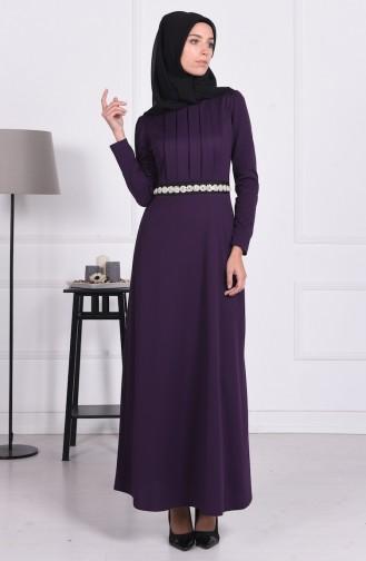 Purple İslamitische Jurk 2735-03