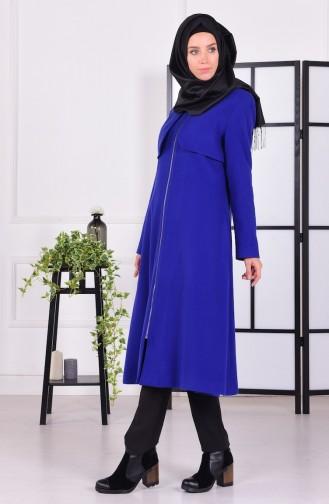 Saxon blue Lange Jas 0678-03