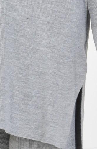 Triko Pantolon İkili Takım 3832-02 Gri 3832-02