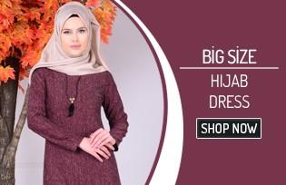 Oversized Hıjab Dress Models