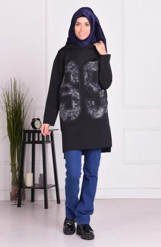 Black Tunic 15068-02
