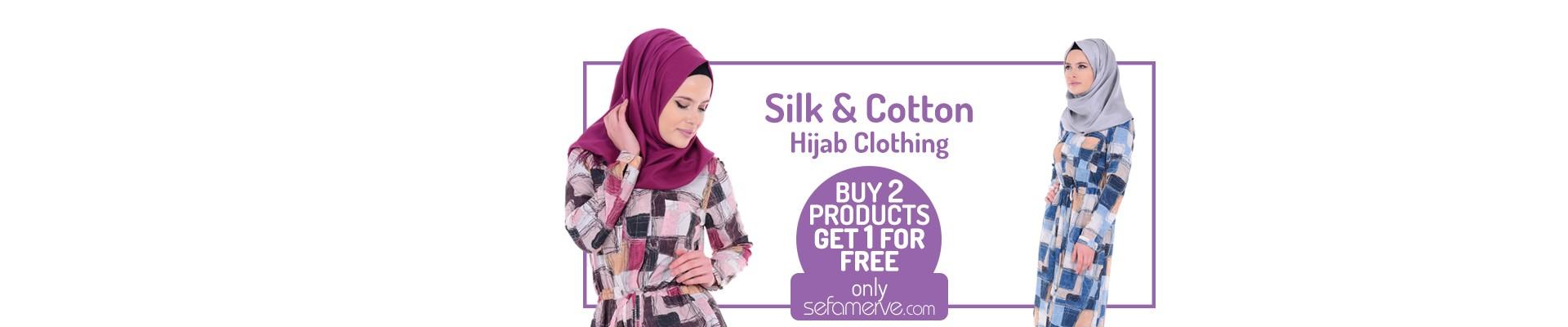 Silk&Cotton buy 2 get 1 free
