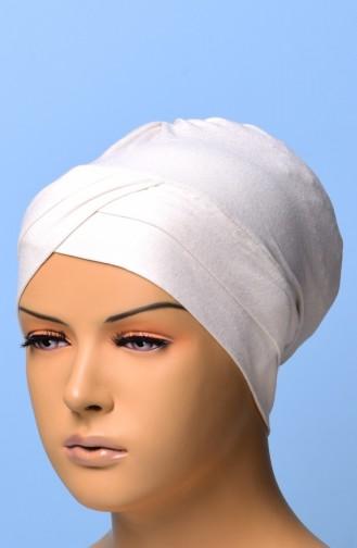 Bonnet Croisé 01 Creme 01