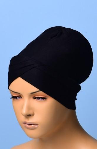 Kreuz Bonnet 05 Schwarz 05