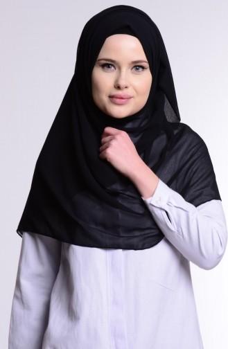 Alya Şifon Şal 9902-01 Siyah