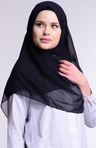Alya Schal aus Chiffon 9902-02 Dunkelblau 9902-02