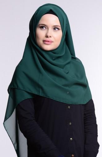 Alya Schal aus Chiffon 9902-06 Smaragdgrün 9902-06