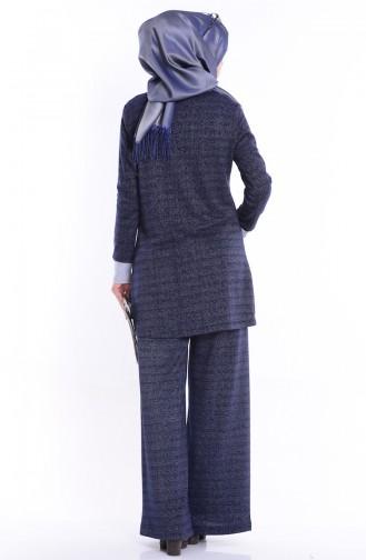 Navy Blue Suit 1642-01
