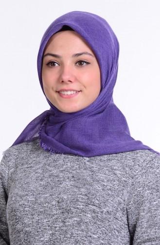 Lila Kopftuch 11