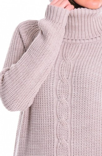 Beige Sweater 3872-05