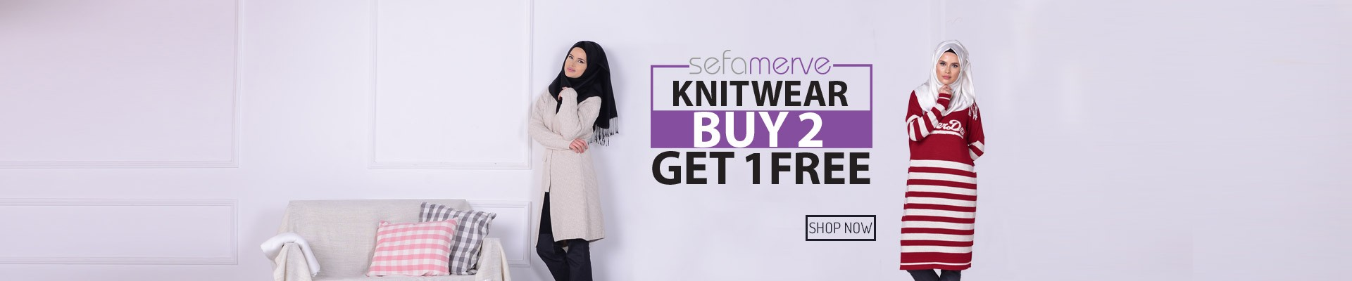 Buy 2 knitwear Get 1 for FREE