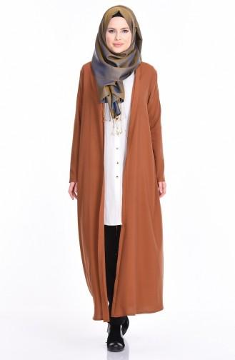 Gilet Long 4028-16 Camel 4028-16