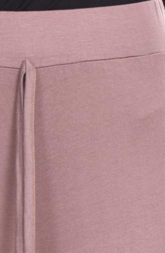 Pantalon Peigné Grande Taille 0750B-04 Vison 0750B-04