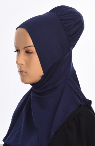 Navy Blue Bonnet 08