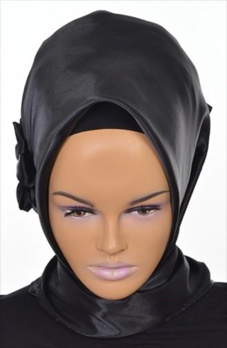 Black Ready to wear Turban 0035-19