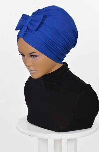 Bonnet aus Gekämmte Baumwoll -Saks B0007-4 0007-4