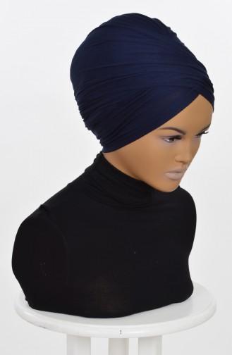 Dunkelblau Bonnet 0298-1