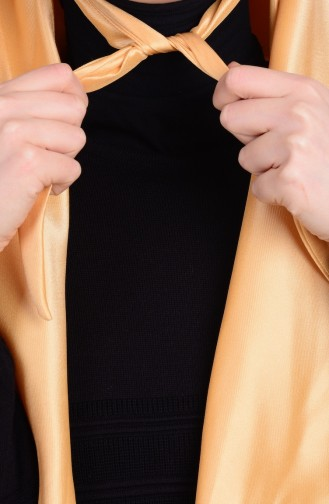 Golden Yellow Smart Scarf 17
