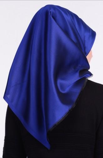 Sefamerve Echarpe İntélligent 25 Bleu Roi Noir 25
