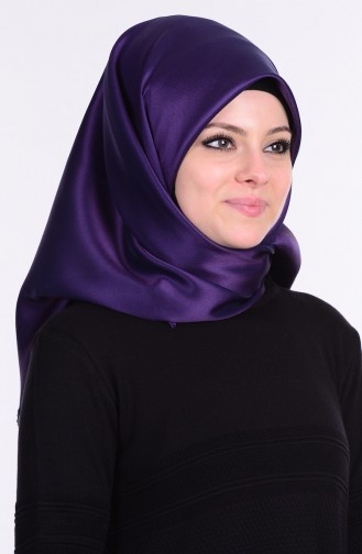 Dark Purple Smart Scarf 03