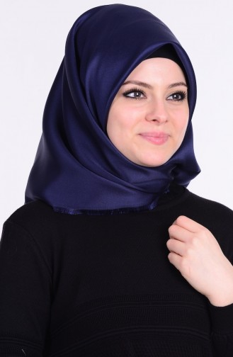 Navy Blue Smart Scarf 02
