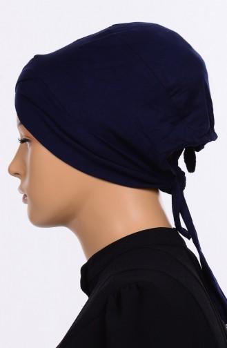 Bonnet Croisé 03 Bleu Marine 03