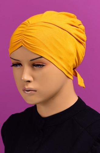 Bonnet Plissée 15 Moutarde 15