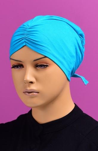 Bonnet Plissée 45 Turquoise 45