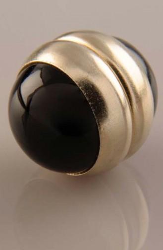 Schwarz Schal Kopftuch Nadel 06-0202-02-20-T