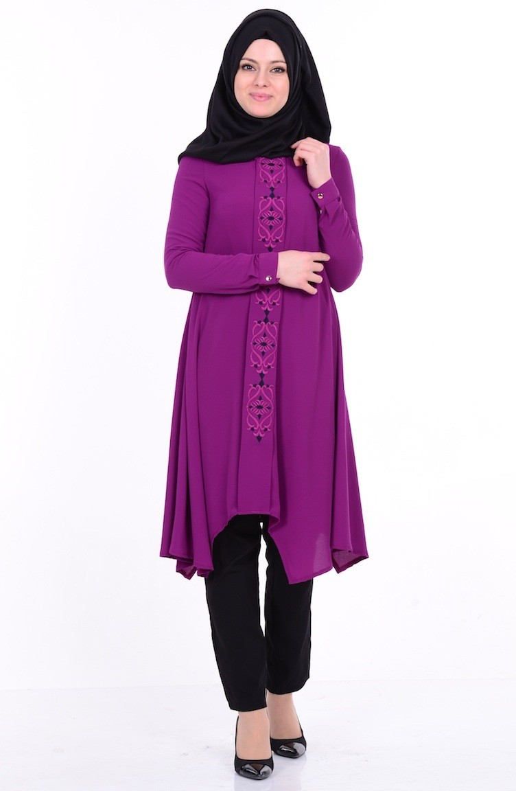 beb69701dc2 Purple Tunic 4083-04