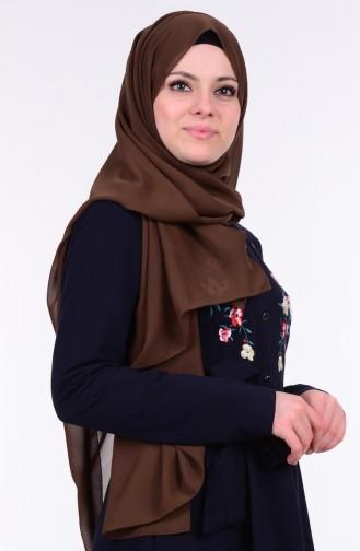 Alya Schal aus Chiffon 9902-12 Braun 9902-12