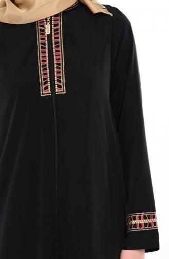 Black Abaya 1080-01