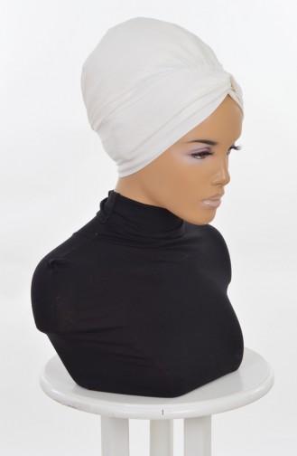 Mihricane Bonnet-Creme B0004-8 0004-8