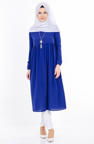 Navy Blue Tuniek 9098-03