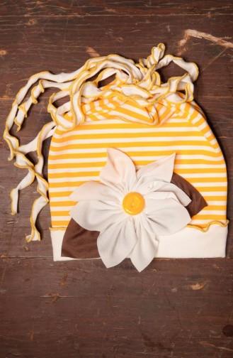 Yellow Hat and bandana models 14