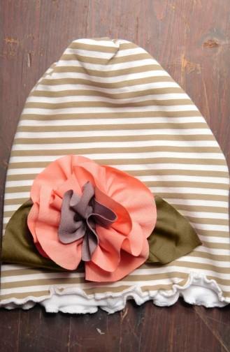 Penye Şapka NS50 Açık Vizon Ekru