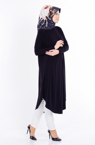 Tunique avec Fente 17351-01 Noir 17351-01
