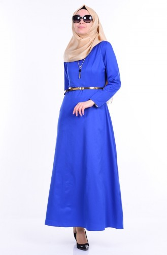 Kleid mit Halskette 2201-12 Saks 2201-12