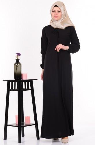 Salaş Elbise 4074-06 Siyah
