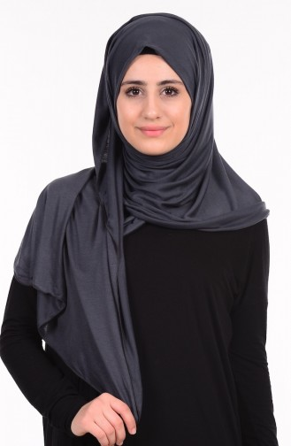 Dark gray Sjaal 52