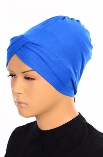 Bonnet Croisé 15 Bleu Roi 15