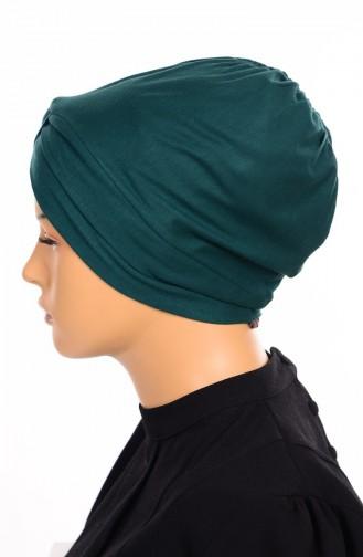 Kreuz Bonnet 17 Smaragdgrün 17