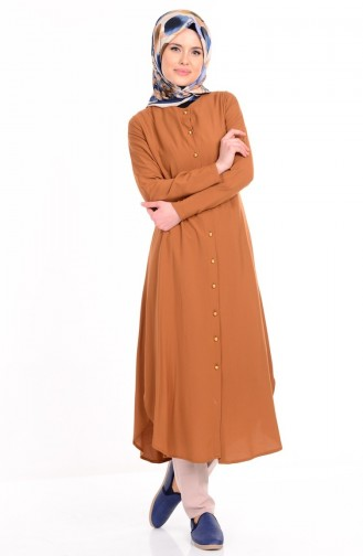 Tobacco Brown Tunic 2034-08