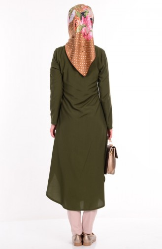 Buttoned Tunic 2034-13 Green 2034-13