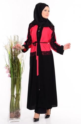 Red Abaya 7711-04