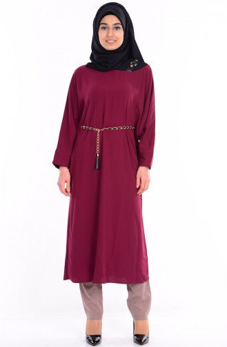 Yarasa Kol Tunik 0686-06 Bordo