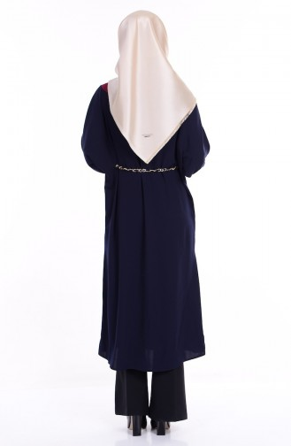 Navy Blue Tuniek 0686-02